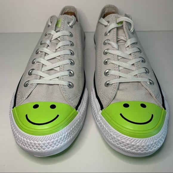 Converse All Star Smile Face Grey